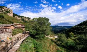 山西太原懸空村旅游攝影圖片