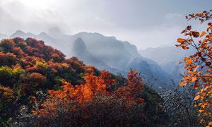 太行山旅游景区摄影图片