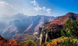 太行山景區美麗風光攝影圖片
