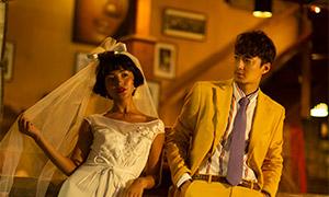 棚拍内景婚纱人物主题摄影高清原片