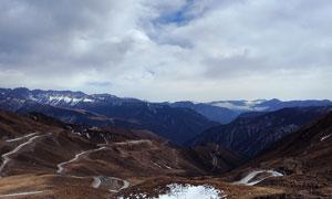 西藏山区美丽景观摄影图片
