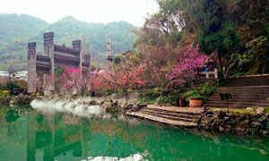酉阳桃花源美丽景观摄影图片