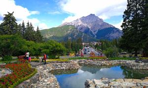 加拿大班芙国家公园美景摄影图片