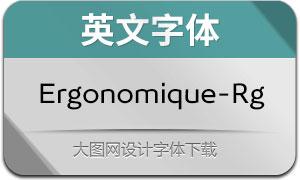 Ergonomique-Regular(英文字体)