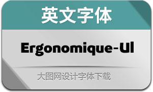 Ergonomique-Ultra(英文字体)