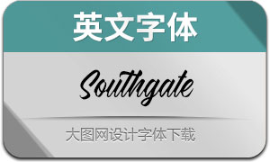 Southgate(英文字体)