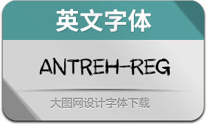 Antreh(英文字体)
