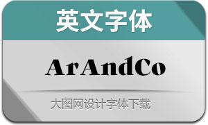 ArAndCo(英文字体)