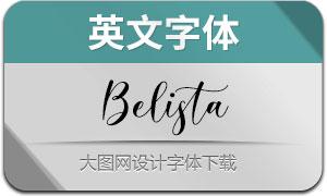 Belista(英文字体)