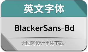 BlackerSans-Bold(英文字体)
