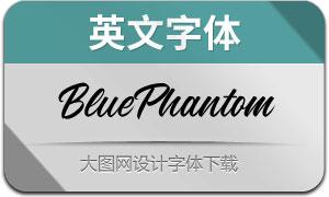 BluePhantom(英文字体)