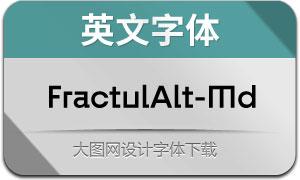 FractulAlt-Medium(英文字体)