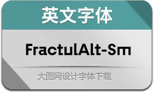 FractulAlt-SemiBold(英文字体)