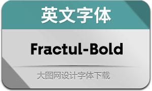 Fractul-Bold(英文字体)