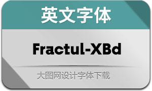 Fractul-ExtraBold(英文字体)