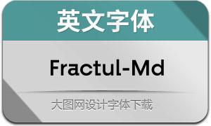 Fractul-Medium(英文字体)