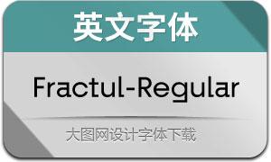 Fractul-Regular(英文字体)