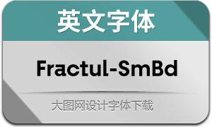Fractul-SemiBold(英文字体)