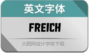 Freich(英文字体)