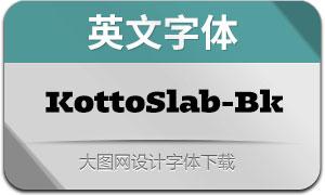 KottoSlab-Black(英文字体)