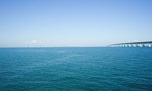 日本奈良美丽海景摄影图片