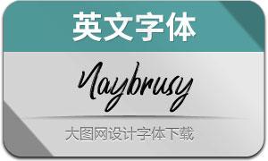 Naybrusy(英文字体)
