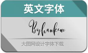 Boshankem(英文字体)