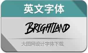 Brightland(英文字体)