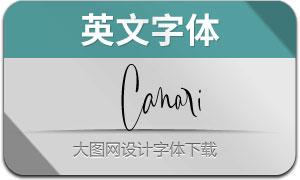 Canari(英文字体)