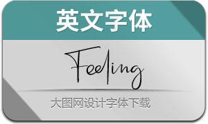 Feeling(英文字体)