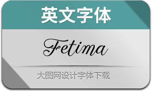 Fetima(英文字体)
