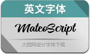 MateoScript(英文字体)