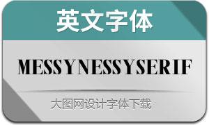 MessyNessySerif(英文字体)