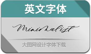 MinimalistScript(英文字体)