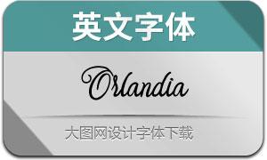 Orlandia(英文字体)
