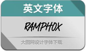 Ramphox(英文字体)