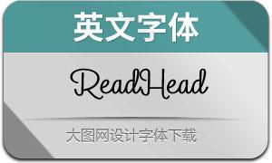 ReadHead(英文字体)