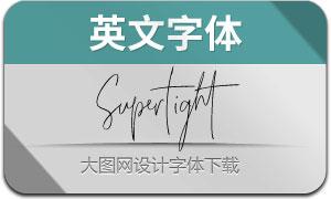 Super-tight(英文字体)