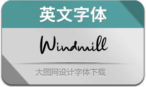Windmill(英文字体)
