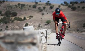 戶外單車騎行運動人物攝影高清圖片