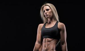 健壮肌肉运动美女人物摄影 澳门线上必赢赌场