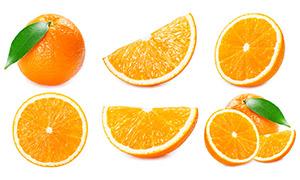 新鲜口感绝佳橙子特写摄影高清图片