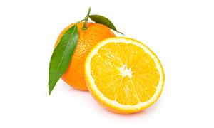 甜爽口感新鲜橙子特写摄影高清图片