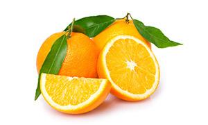 精心挑选后的新鲜橙子摄影高清图片