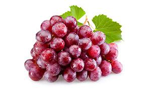 用水冲洗过的新鲜葡萄摄影高清图片