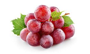 大又甜的红色葡萄特写摄影高清图片