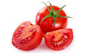 时令季节的西红柿特写摄影高清图片