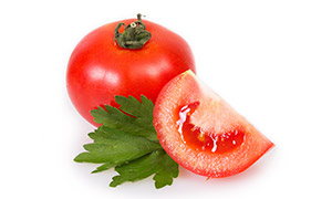 酸甜可口新鲜番茄近景摄影高清图片