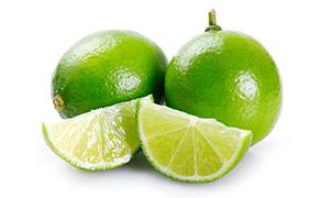 酸酸的青柠檬近景特写摄影高清图片