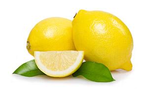 清香扑鼻的新鲜黄柠檬摄影高清图片
